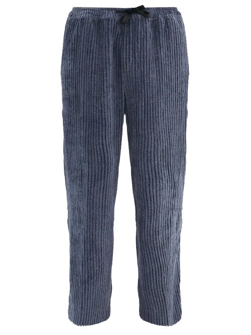 Post-imperial - Ikeja Upcycled Cotton-blend Wide-leg Trousers - Mens - Black