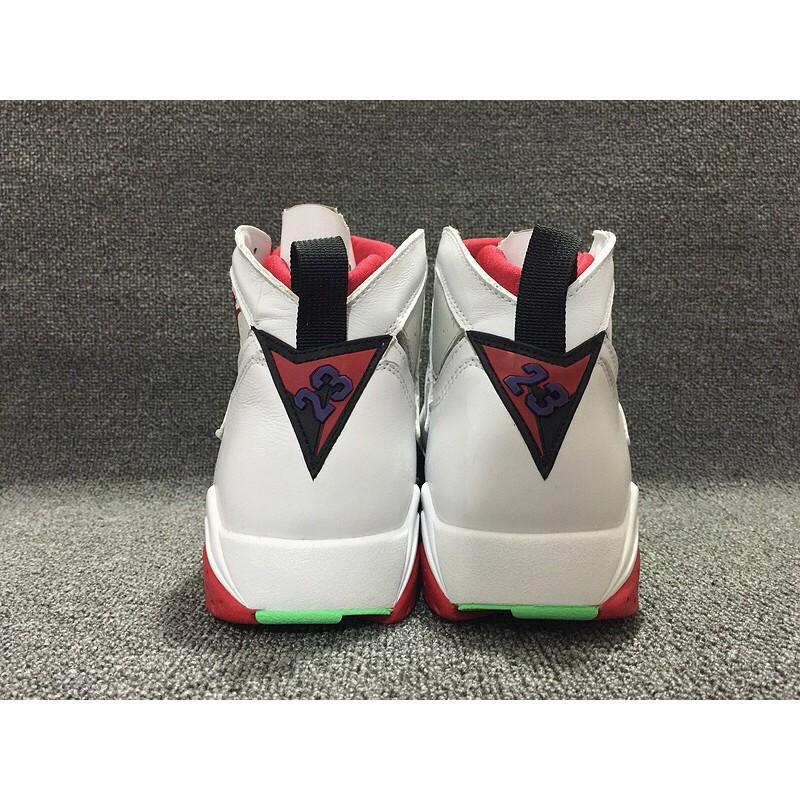【實拍】NIKE Air Jordan 7 AJ7 Retro Hare 兔八哥 白紅 女鞋