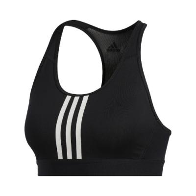 adidas 運動內衣 Dont Rest Alphaskin 女 愛迪達 三線 中度支撐 健身 重訓 瑜珈 黑 白 FT3128