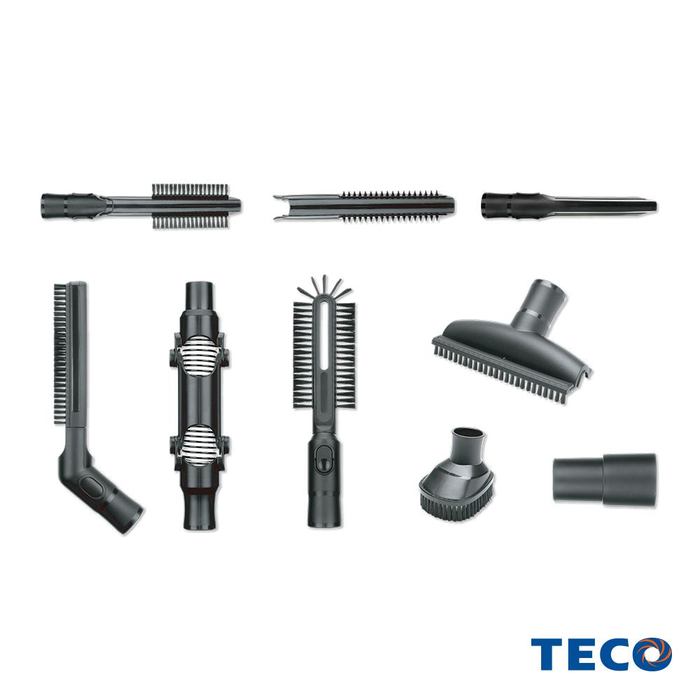 TECO東元 輕淨無刷吸塵器豪華配件組(適用XJ1809CBW)