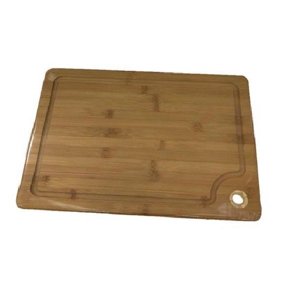 LET'S GO COOK 樂煮生活系列 天然竹砧板 TRLTG002M-00 黑皮TIME 52151