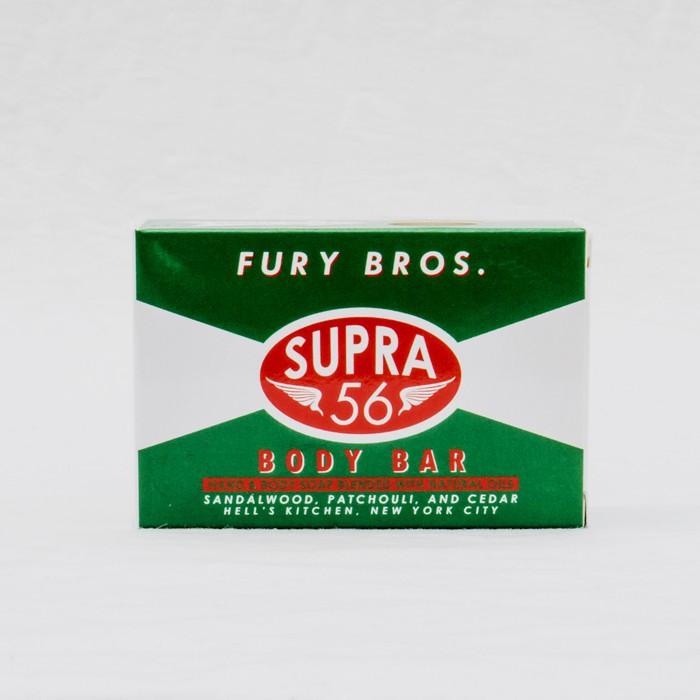 美國Fury Bros.天然有機香氛Supra 56 Body Bar香皂美國製檀香雪松味