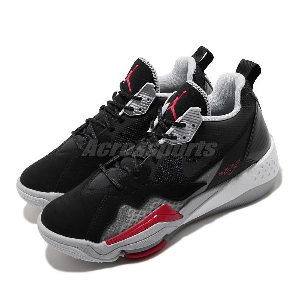 Nike 籃球鞋 Jordan Zoom 92 黑 灰 紅 男鞋 氣墊設計 合體鞋款 運動鞋 【ACS】 CK9183-001