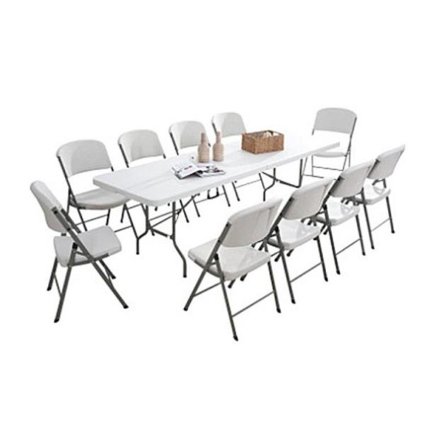 戶外多功能輕巧便攜好收納折疊桌 蜂窩結構更耐壓耐撞 (1.2米_4~6人)