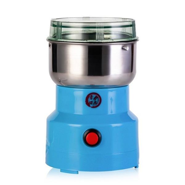 【快速出貨】粉碎機 五穀雜糧電動磨粉機 家用小型研磨機 不銹鋼中藥材咖啡打粉機 110V