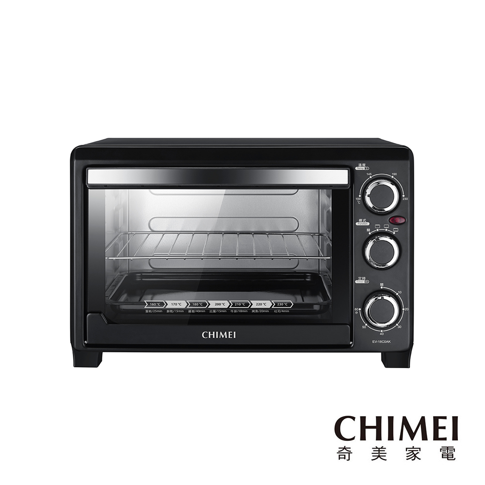 CHIMEI奇美 18公升家用電烤箱 EV-18C0AK