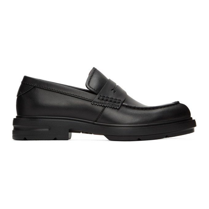 Ermenegildo Zegna 黑色 Verona 乐福鞋