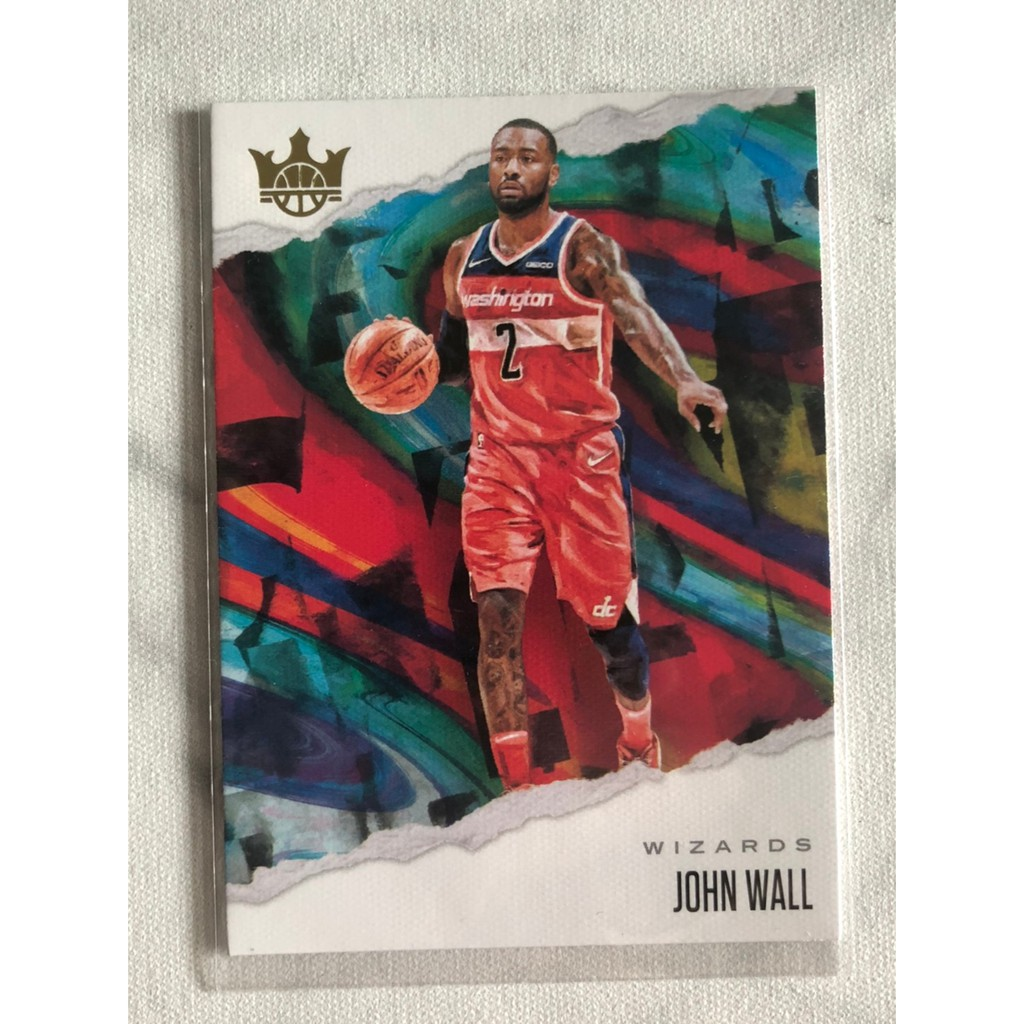 NBA卡,籃球卡,球員卡,球卡,John Wall,Court Kings 油畫