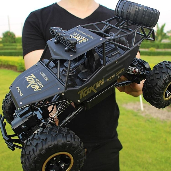 合金版超大遙控越野車四驅充電高速攀爬大腳賽車兒童玩具汽車模型【免運】