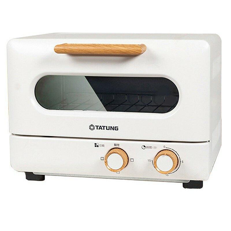 TATUNG大同 9L雪白木紋經典電烤箱 小烤箱 TOT-908WA【柏碩電器BSmall】