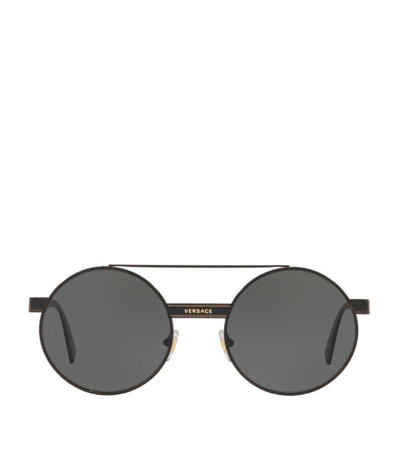 Versace Circular Sunglasses