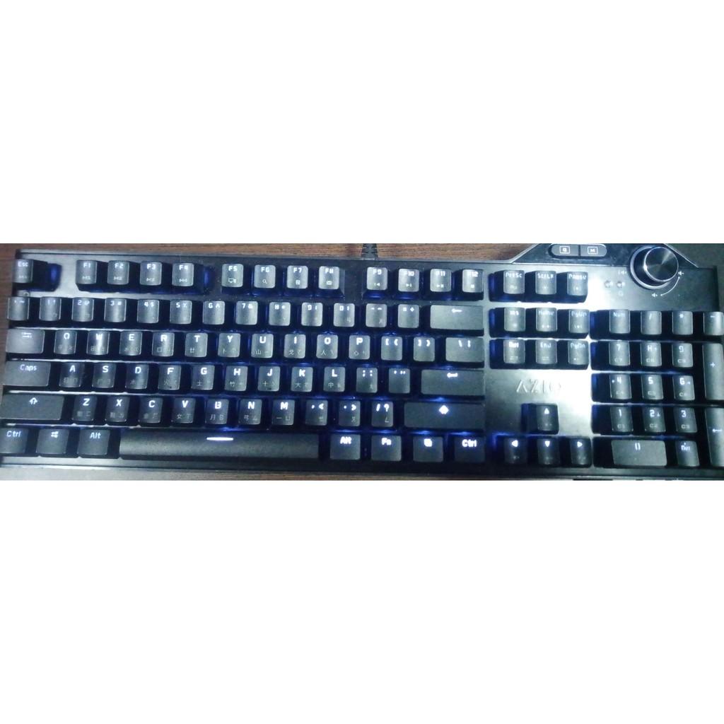 AZIO MGK L80MAX機械式鍵盤 中文【銀軸白光】