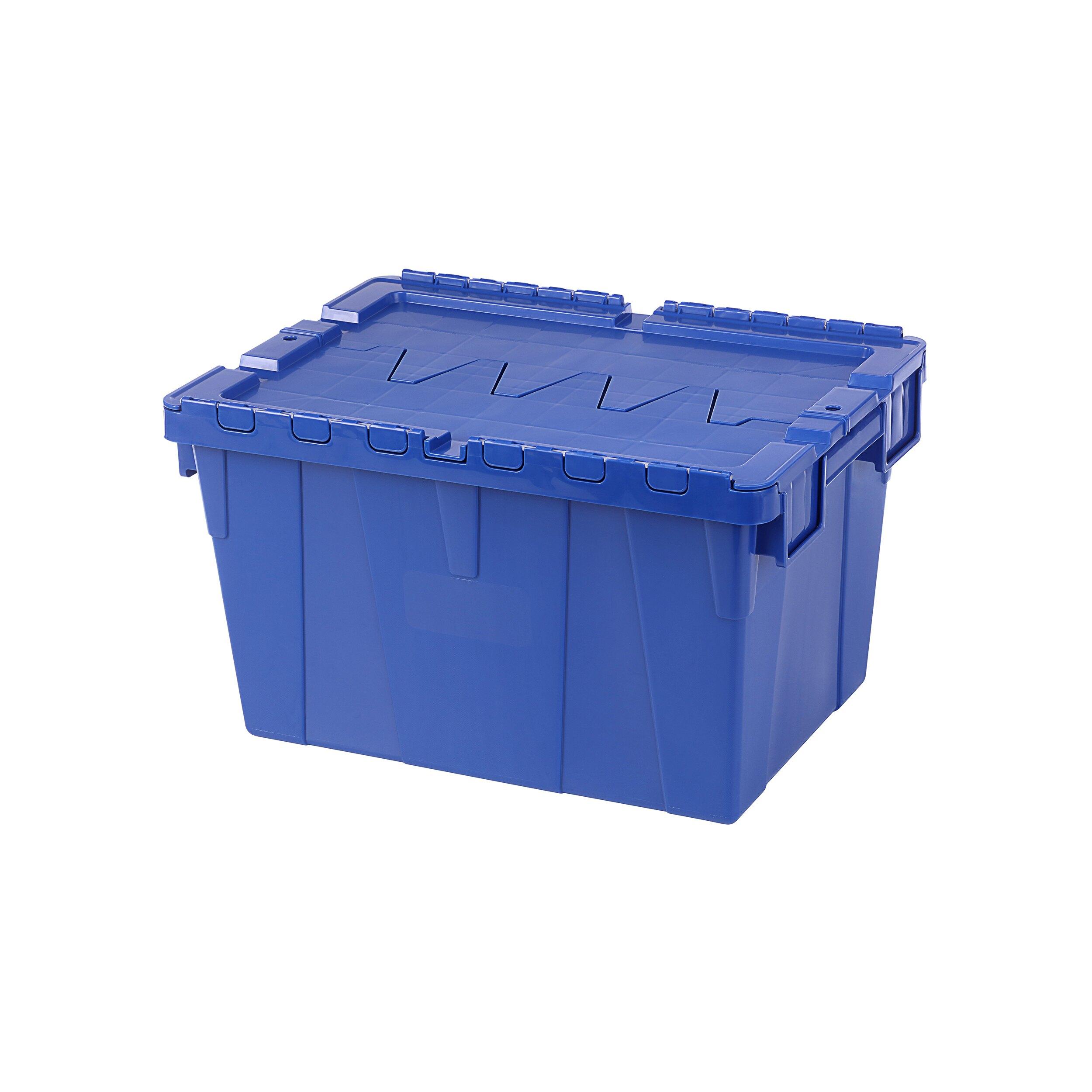 搬運物流箱/分類高手/MIT台灣製造 KEYWAY 3號物流箱(藍) BL50-3  KEYWAY聯府