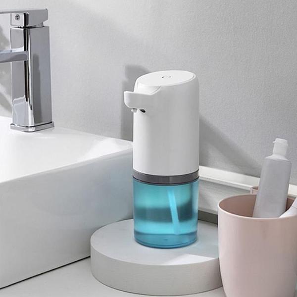 給皂機 全自動出泡沫型皂液器智能洗手液機感應器替換液家用衛生間充電動 晶彩 99免運