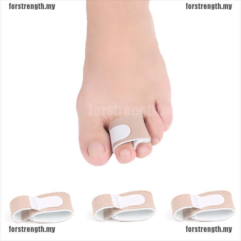 [FOR]腳趾分離器夾板重疊手指支撐繃帶矯直機Uni