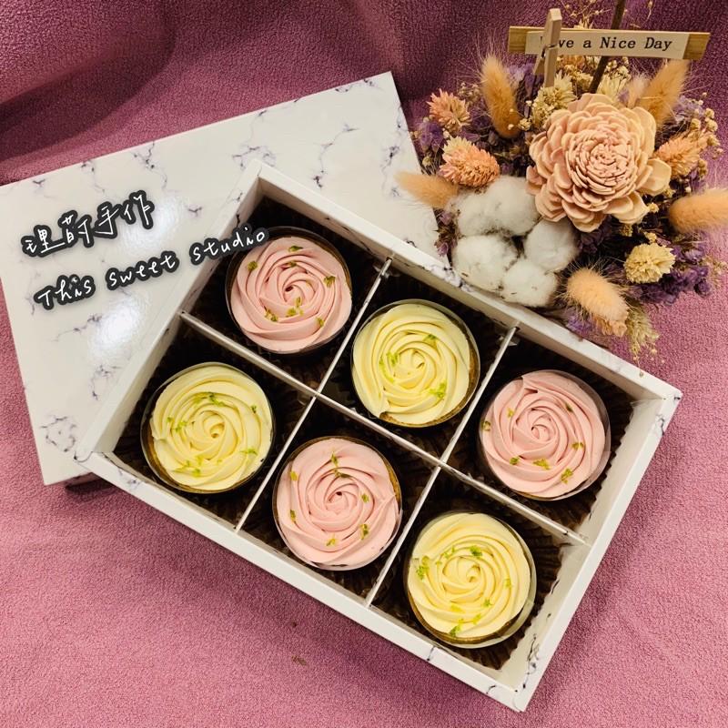 [理莳手作]玫瑰檸檬塔手作甜點 濃濃檸檬香~
