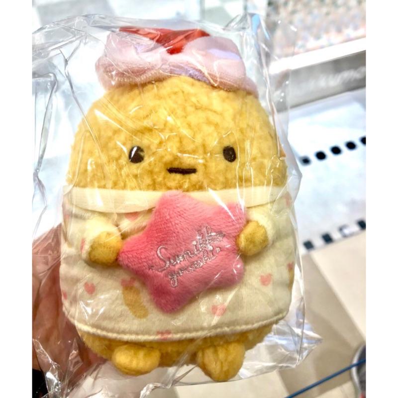 日本專賣店限定 角落生物睡衣炸蝦絨毛娃娃 炸魚