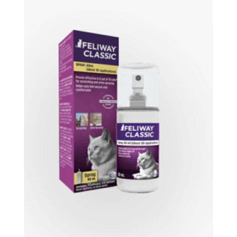 公司貨法國 FELIWAY 費利威-噴劑 安撫貓咪情緒 貓咪費洛蒙/費洛貓 60ML