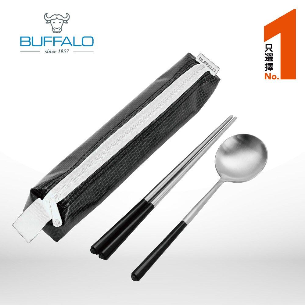 牛頭牌 雅潔隨身餐具組(三角筷+三角湯匙+餐具袋)