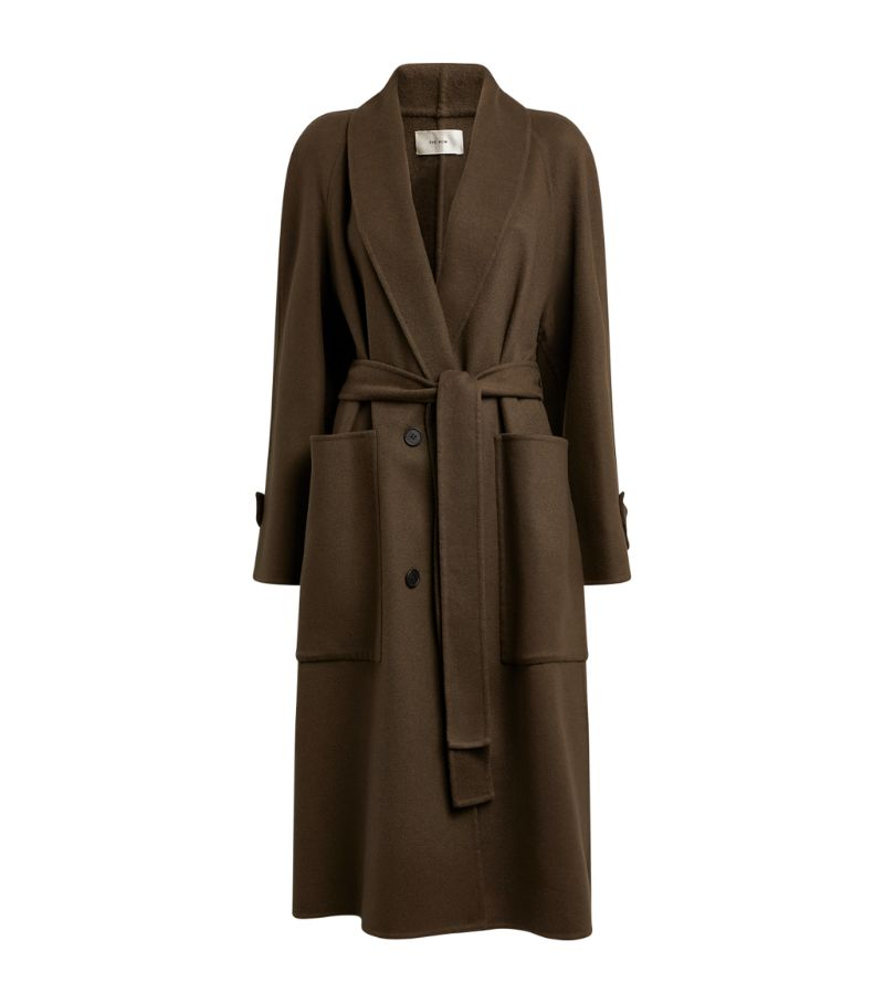 The Row Cashmere-Silk Fiera Coat