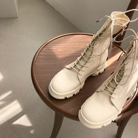 韓國代購 不經意就會被注意的軍靴 9.amez