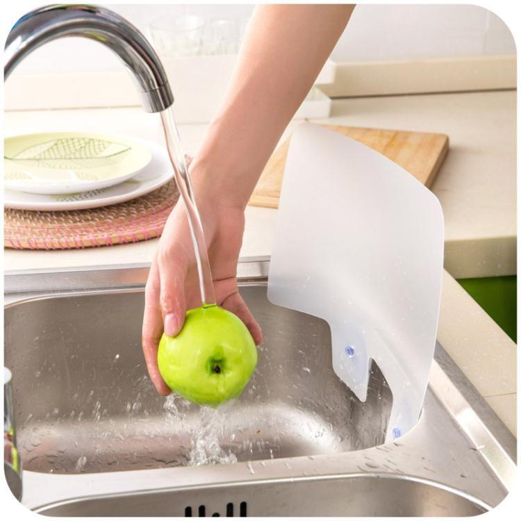 中秋特價 擋油板 居家家吸盤防濺水擋板水池隔水板水槽擋水板廚房用品小工具擋油板 LX 美物