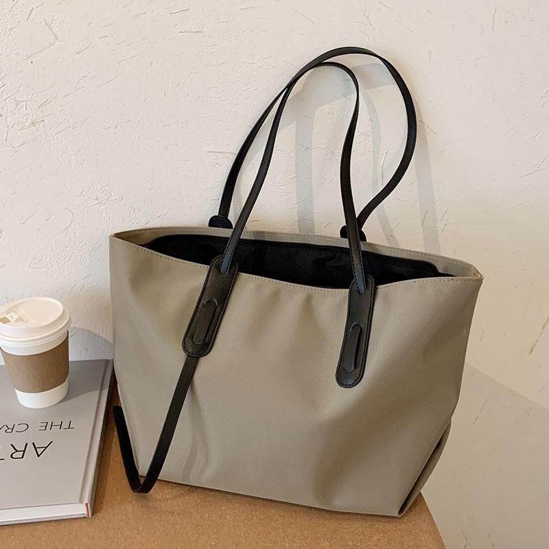 夏季大容量包包單肩包托特包百搭簡約休閑手提包