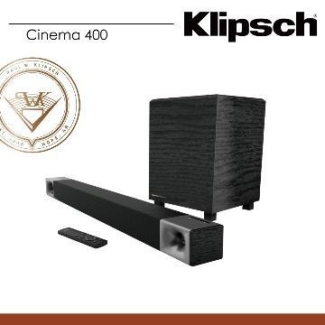 Klipsch 5.0藍牙微型劇院(Cinema 400)