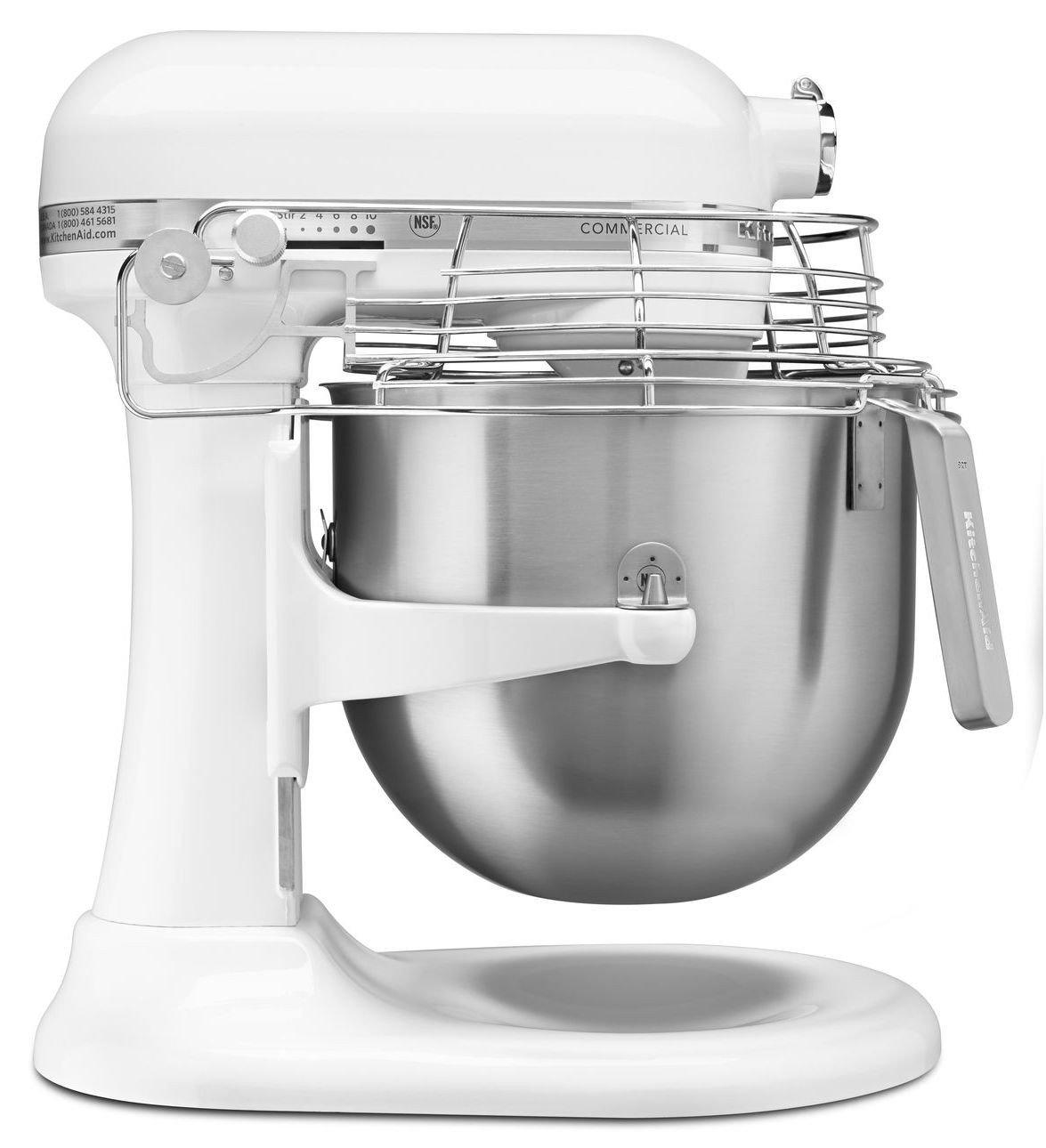 【美國KitchenAid】8QT商用升降式攪拌機 3KSMC895TWH 台灣公司貨保固