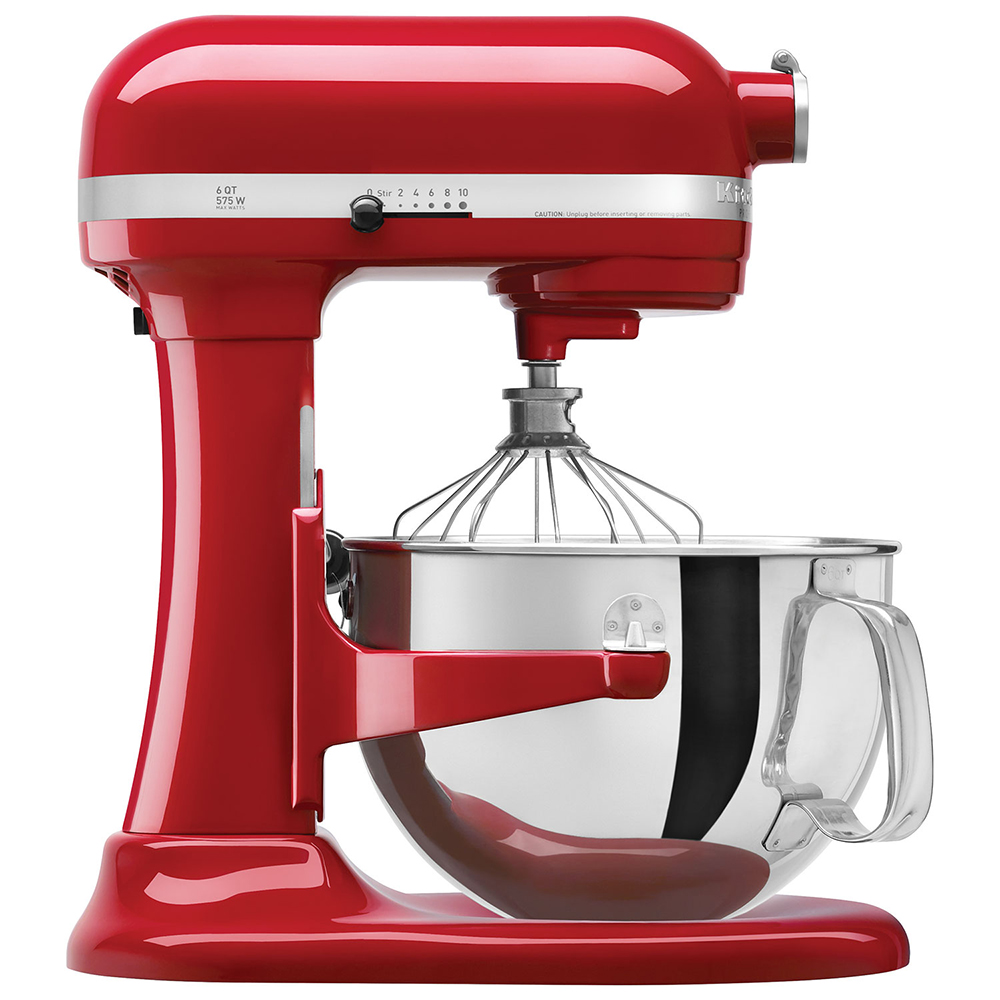 【KitchenAid】PRO500 Series 5QT 升降式攪拌機 Stand Mixer KSM500 紅色 KSM500PSER