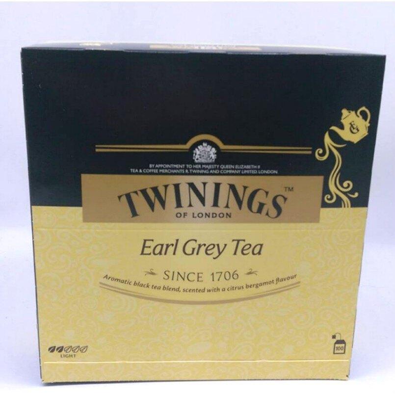 茶包 TWININGS 皇家伯爵茶 一盒100包 茶葉 早餐 飲料 熱飲 上班必備 紅茶 烏龍茶 綠茶 伯爵茶 哈帝