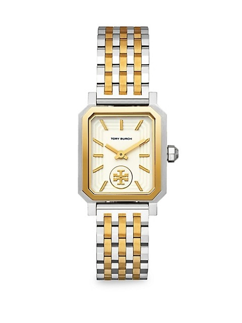 Robinson Goldtone & Stainless Steel Bracelet Watch