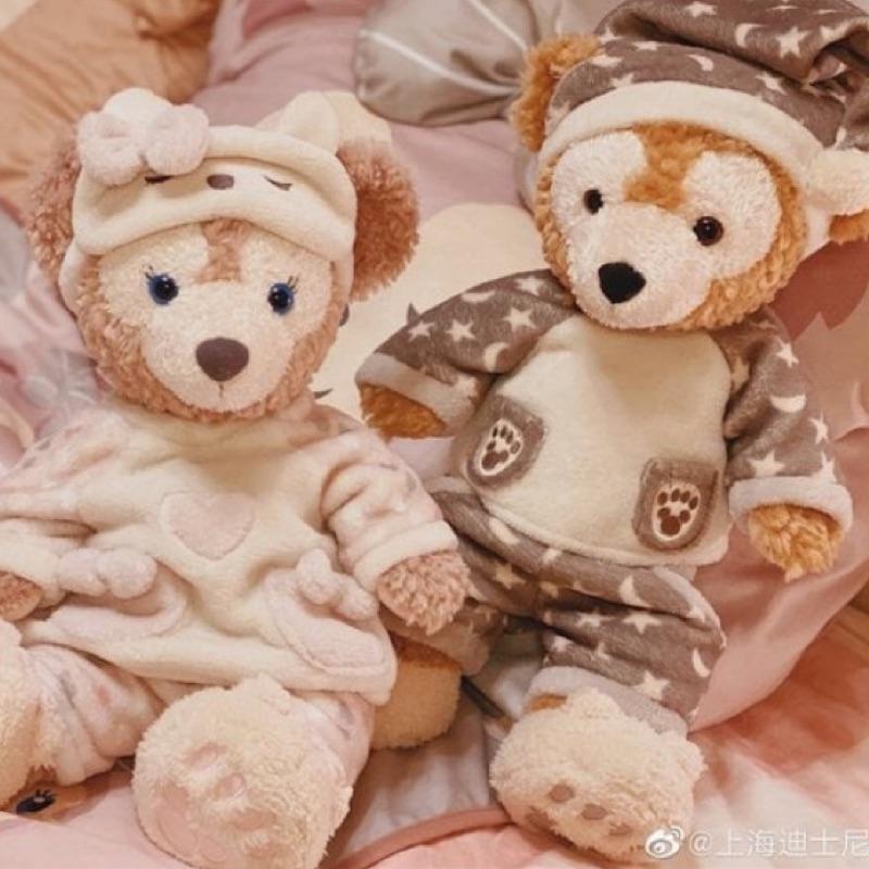 現貨 ☆睡衣系列限定 上海迪士尼代購┃達菲 雪莉玫S娃娃睡衣
