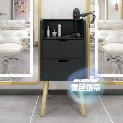 理髪店工具櫃 理髪店工具櫃髪廊專用工具台美髪店置物架抽屜式鏡台櫃子小剪髪櫃T