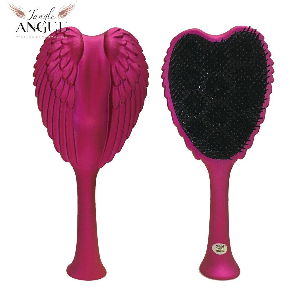 Tangle Angel英國 凱特王妃御用天使梳-亮粉22.7cm加大款