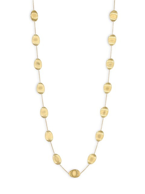 Lunaria 18K Yellow Gold Long Necklace
