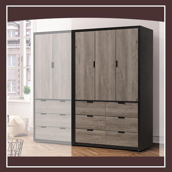 漢諾威47尺衣櫥 21195062003
