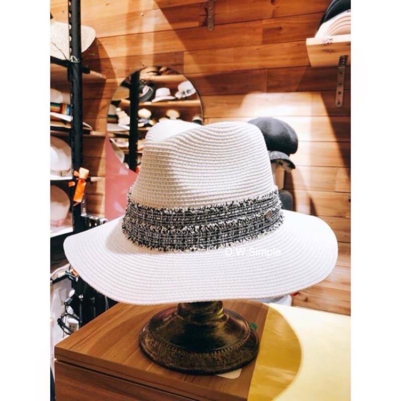 小香編藤帽 版型挺美