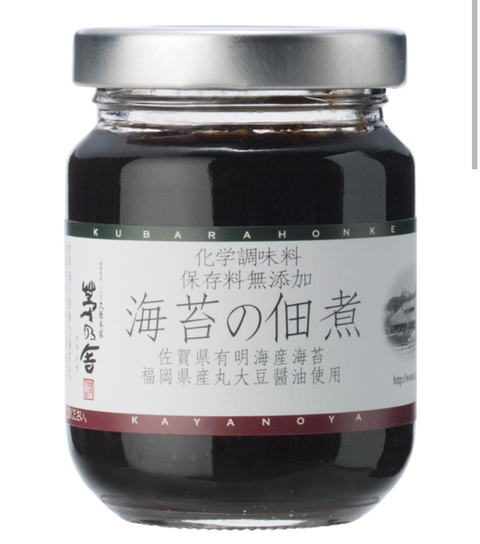 預購-日本 久原本家 茅乃舍 海苔の佃煮/茅乃舍 海苔醬 [FIFI SHOP]