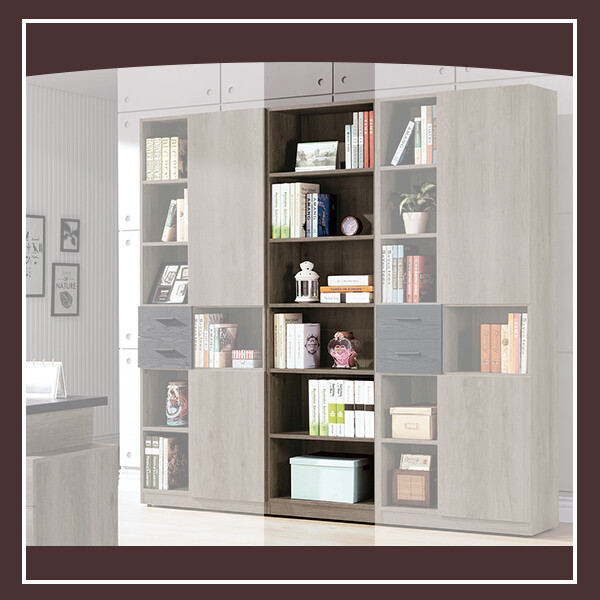 狄恩2尺開放書櫃 21195477004