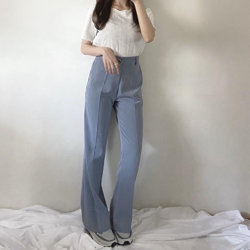 A8111.現+預購‼️質感木釦修身西裝褲