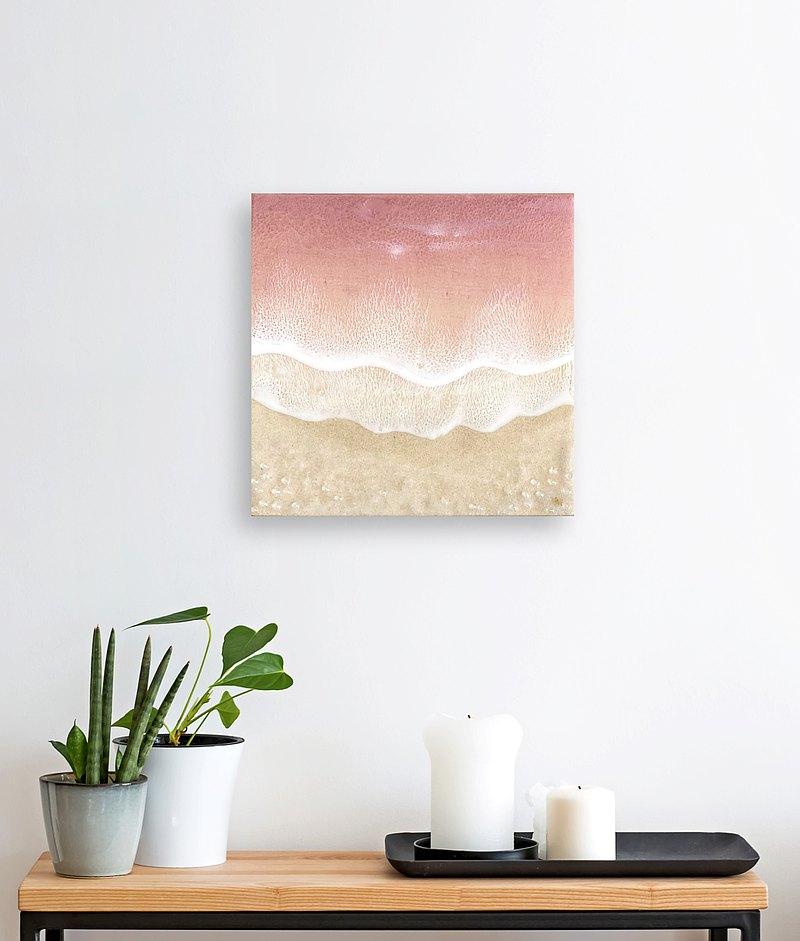 海洋繪畫,壁畫,家居裝飾,喬遷,結婚禮物