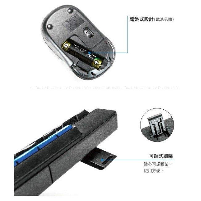 無線鍵盤滑鼠 耐嘉 KINYO GKBM-881 2.4GHz無線鍵盤鍵鼠組 鍵盤 滑鼠 電腦周邊【SF2102】 哈帝