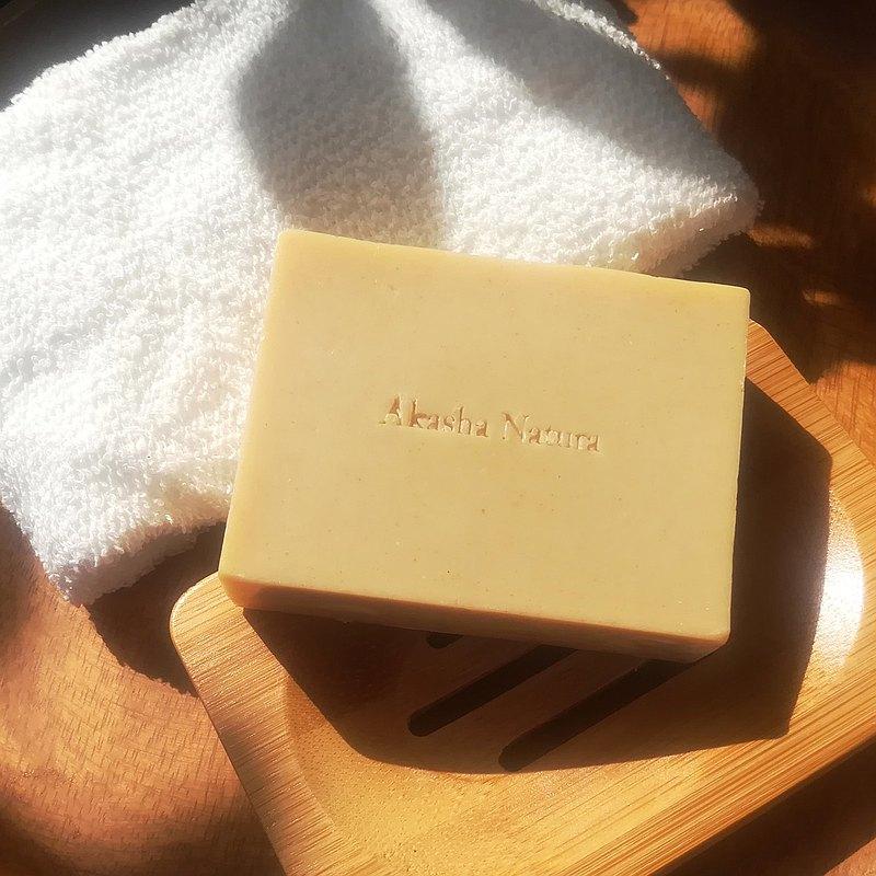 頂級冷凝皂 乳油木果漢方洗顏皂 天然麻起泡袋 天然竹皂盤 禮物