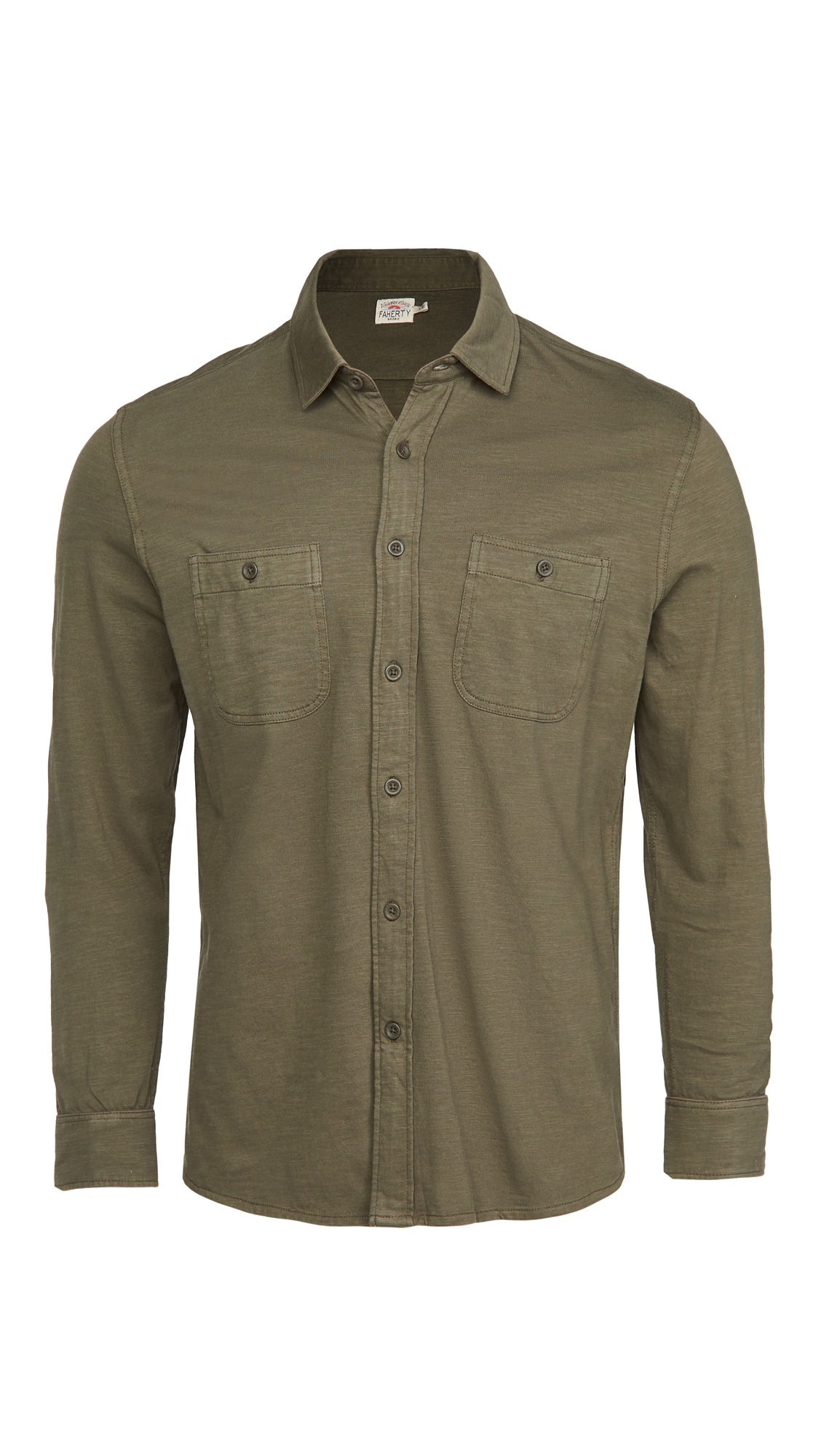 Faherty Knit Seasons Shirt