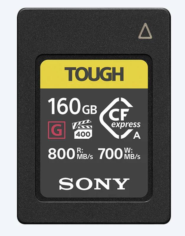 【eYe攝影】現貨 原廠 SONY CEA-G160T 160G CF Type A 高速記憶卡 記憶卡 連拍 A7S3