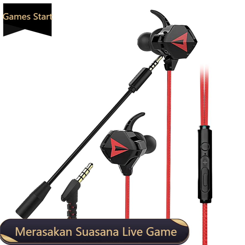 遊戲耳機 Esport 視頻遊戲 Hifi 耳機立體聲低音高清語音雙麥克風麥克風