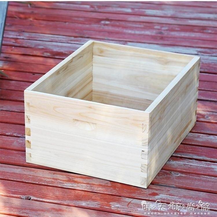 【快速出貨】蜜蜂蜂箱發貨杉木中蜂標準蜂箱裝好紗蓋無縫發快遞 聖誕交換禮物