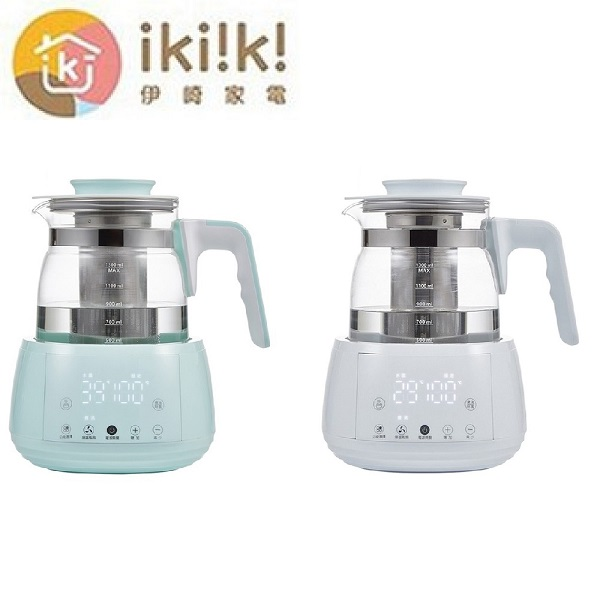 【ikiiki伊崎】智能調溫烹煮壺 IK-TK4401 / IK-TK4402