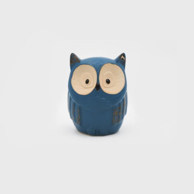 Ceramic Deco Owl